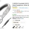 [Alerta Trato] un acuerdo Popular Devoluciones - V-MODA Crossfade M-80 On-Ear Headphones Sólo $ 80 Hoy en Amazon y BestBuy, por debajo de $ 150